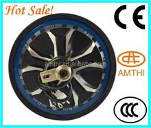 new type high torque 10inch brushless and gearless drum brakes electric hub motor , wheel hub motor , AMTHI