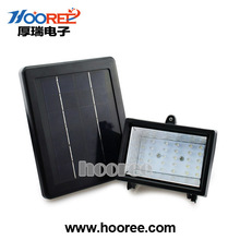 Factory solar led flood light rechargeable led flood light with outdoor