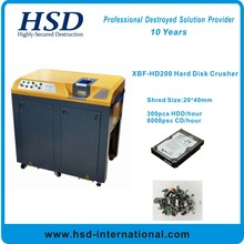 HD200 Hard Drive Crusher Physically destroy hard drives and solid state drives