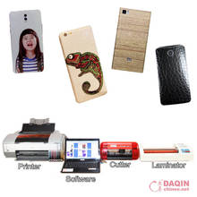 Daqin mobile phone skin sticker making / trading business ideas