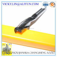 60 Degree 3Flute Solid Carbide CNC End Milling cutting tools