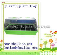 plastic plant tray,plastic garden plant trays,plastic flower pot trays