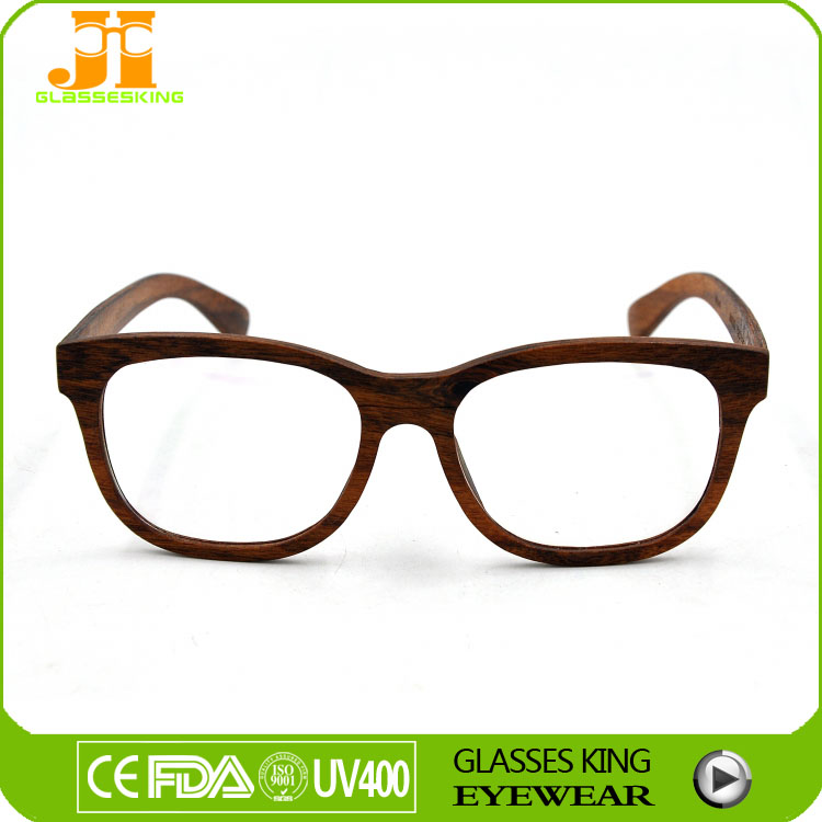 Hand Made Eyeglass Frame Optical Wood Frame Fast Fashion ...