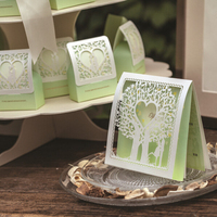 Attractive design with competitive price invitation card theme laser