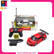 1:24 4 channel plastic children car toy full function radio control car