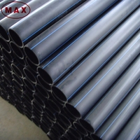 6 meter length HDPE pipe for water, 12 inch HDPE drain pipe price