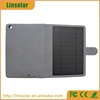 For ipad. universal leather flip case solar cover with battery 8000mAh for ipad 2 3 4 air