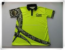 Fashionable sublimated man polo t-shirt, polo t shirt factory