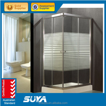 free standing fashion design good quality comfortable deluxe steam shower room with ABS tray
