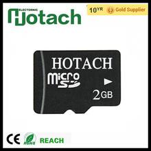 Wholesale microsd 2gb memory phone memory card