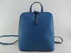 Bule genuine leather backpack lady fashion bags