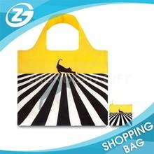 Portable Custom Folding Polyester Shopping Bag