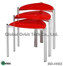 Glass Nesting coffee table