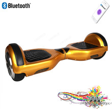 Bluetooth Music Hoverboard Smart Balance Scooter 2 Wheel Self Standing Electric Drift Skateboard with remote key free handbag
