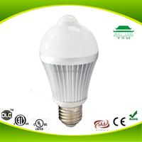 2015 New Product Bulk Buy from Alibaba China Smart PIR Sensor B22/E27/E26 SMD LED Bulb