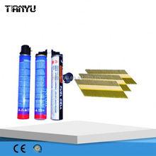 concrete nailer Real factory ! Gas Nailer Fuel Cell for Paslode IM350/325 concrete nailer for gas framing nailer