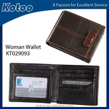 genuine leather wallet or top grain leather wallet with brand wallet