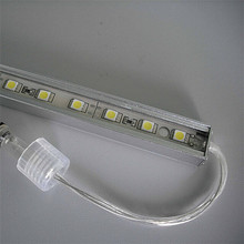 Fashionable led rigid strip 5050 60leds/m with CE RoHS certification outdoor decoration/cabinet light/led rigid bar