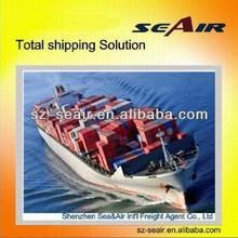 sea freight agency from Shenzhen or Guangzhou to Europe