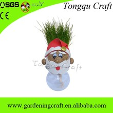 Fashion christmas ornament grass doll