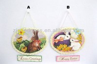 Hot Sale Happy Easter Bunny Rabbit Hanging Ornament