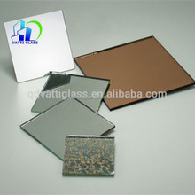 Cheap price double coating 3mm 4mm 5mm clear float aluminum mirror for wall