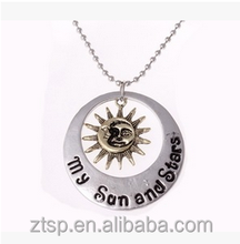 Songs of ice and fire sun&moon fashion necklace