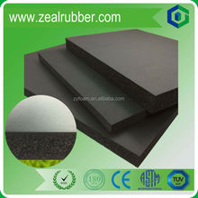 heat insulation nbr foam rubber sheet/roll/board/mat