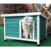 Outdoor Pet Products Dog Club Wooden House