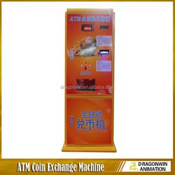 Hot sales ! Dispenser Coin Machine Change Money /Cash Exchange Machines