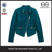 New Design Beauty Fashion Corduroy Fabric Ladies Office Wear Clothing, Hot Clothing Jacket