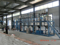 New energy No pollution Small-scale Edible Oil Refinery Plant/walnut oil refining process/walnut oil refining machine