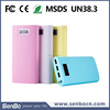 12000mAh 3 output USB portable mobile battery charger