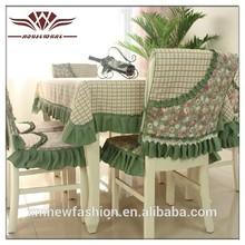 Cuadrado pequeño mantel, oficina de cubierta de la silla, simple mantel de cuadros