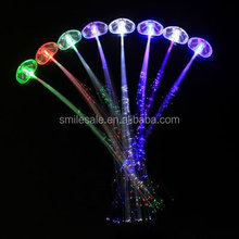 Promotional Colorful LED Hair Lights Party Supplies Decoration Flashing Hair Lights