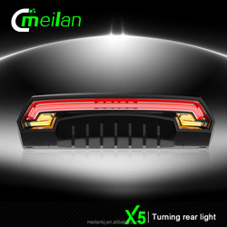 remote control switch X5 Wireless RC Bike rear light laser bicycle accessory electric bike road mountain bikes LED lighting