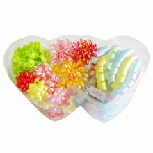 2014 popular gift /holiday/wedding decoration pp pull ribbon and metalic wholesale ribbon star bow