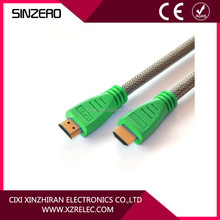 HIGH SPEED WITH ETHERNET FOR 3-D 1080p 1.4V ETHERENT HDMI CABLE