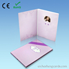 "2.8/3.5/4.3/7"" LCD Video Greeting Card/LCD Video Brochure/LCD Video Booklet for advertisement, gift, education"