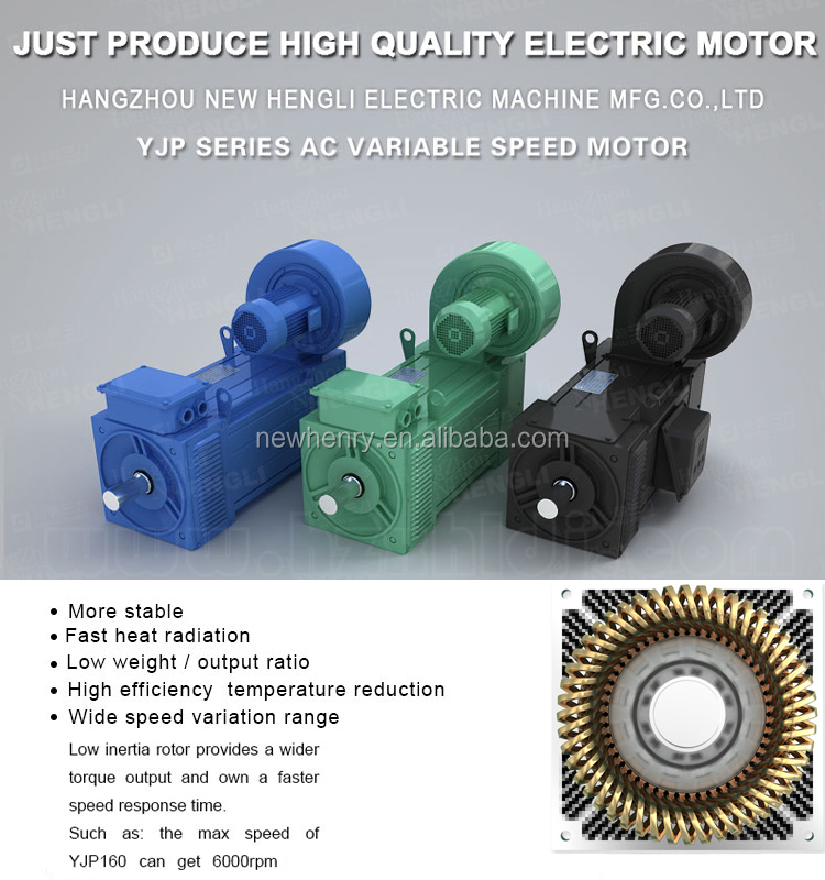 NHL 60 years 440v low speed high torque ac electric motor