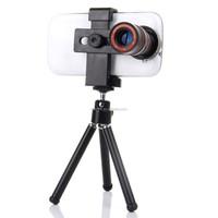 Universal zoom telephoto lens with Mini Holder telescope zoom lens 8X