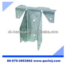 Customized OEM galvanized aluminum joist hangers