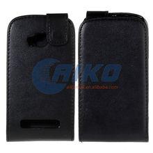 phone case PU leather filp case for lumia 710