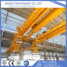 China top manufacture electric double girder overhead/bridge crane used in warehouse