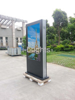 "55"" HD led backlight outdoor lcd --lcd tv enclosure"