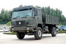 HOWO 4*4 all wheel drive cargo truck