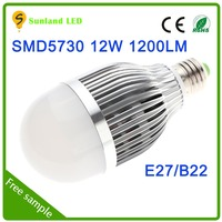 China supplier warm white CE ROHS passed 3 years warranty SMD5730 12w perkin elmer xenon lamp