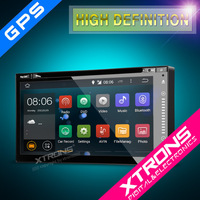"""TD696A- Newest 6.95"""" HD Android 4.4.4 KitKat Quad-Core Digital Multi-touch Screen 1080P Video WiFi Double Din Car Stereo"""