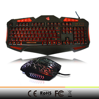 2015 hot selling keyboard mouse gaming mouse cheap keyboard and mouse