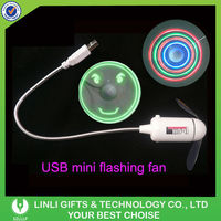 Mini USB Fan With Flash Words